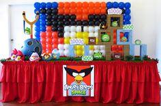 Farolita Decoração de Festas Infantis: angry birds