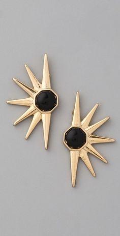 House of Harlow earrings.