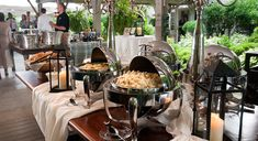 Wedding Reception Buffet Tables | appetizer table..My Favorite