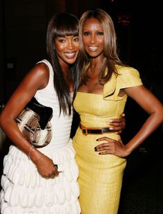 With Naomi Campbell