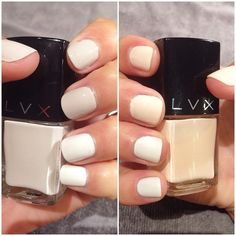 trying three different neutrals this #manimonday