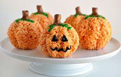 Jackolantern Rice Krispies Treats