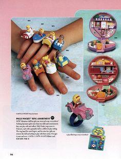 Polly pocket rings