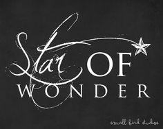 Star of Wonder #FREE Christmas Printable