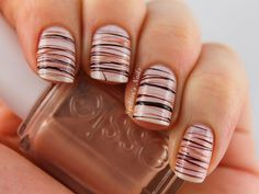 chocolates nail designs