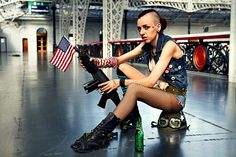 REALLY great Tank Girl photoset.