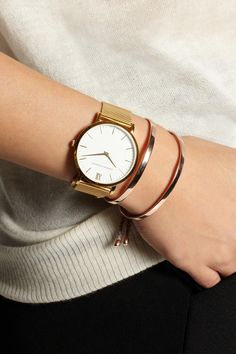 Larsson & Jennings | CM gold-plated watch