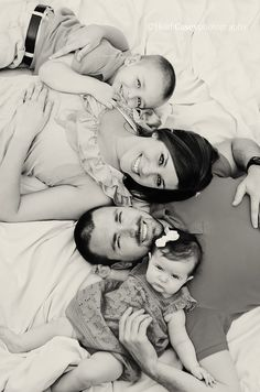 family posing!  We will be doing this pose!