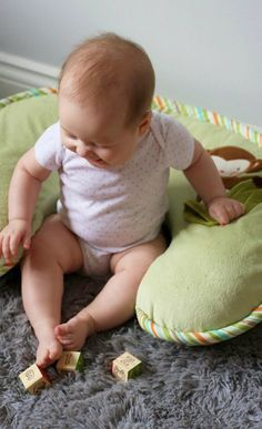 Boppy Pillow ~ a must-have for baby!