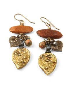 Earrings from Betsy Kaage