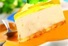 Sernik cytrynowy na zimno / No-Bake Lemon Cheesecake
