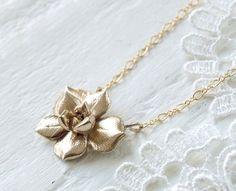 Succulent Necklace.