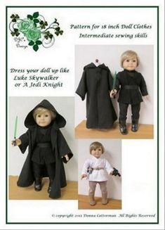 PDF Pattern Luke SkywalkerJedi Knight   fits by donnacotterman, $10.50