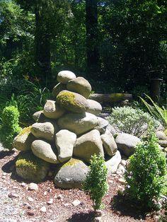 Mossy Rock Pile by AGA~mum, via Flickr