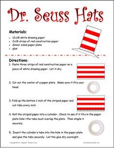 Dr. Seuss Hats