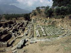 Theatre at Ancient Sparta, Sparta, Greece, Peloponnese