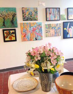 Colorful art & Flowers | Interior Design
