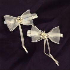 Accent Bows - Fantasy - Ivory