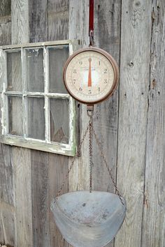 vintage chatillon hanging scale.