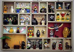 LEGO Minifigure Display by nightfury21, via Flickr