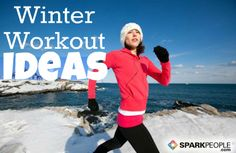 Don't let the cold keep you inactive indoors. Here are tons of great ways to fit in exercise during the winter months. | via @SparkPeople #fitness #workout #motivation