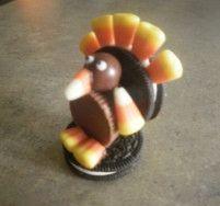 Oreo Reeses Turkeys #reeses #turkey #candy corn #whopper candy #oreo