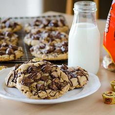 REESE'S Slam Dunk Peanut Butter Cookies - Real Mom Kitchen