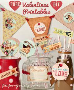 Simply KellyB Valentines printable