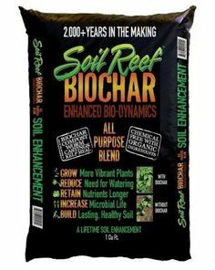Amazon.com: Soil Reef All Purpose Biochar Blend - Ready to Use!: Patio, Lawn & Garden