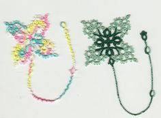 Free Tatting Patterns Beginners | Tatting Bookmark