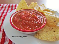 The Country Cook: Restaurant Style Salsa