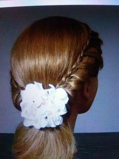peinado de de novia pinado de