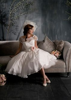 Scarlet by Naomi Neoh perfect wedding vow renewal dress