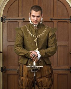 Henry Cavill as Charles Brandon in the Tudors