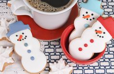 Escape any snow flurry with these sweets. #snowflurry #coffeeandcookies