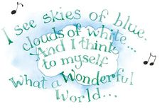 Skies of Blue, Clouds of White- Susan Branch illustration