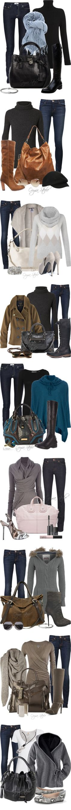"""""""The Denim Collection"""" by orysa on Polyvore"""