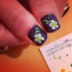 Nail art #flowerpower