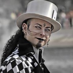 random goth, goth hair, gothic design, goth fashion, cyber goth, fathers, gamblin, photographi, gambl man