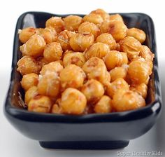 Kid Cooking: Roasted Chickpeas