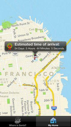 Where is Santa - Santa Tracker App, $0.99 | iTunes