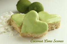 Coconut Lime Scones