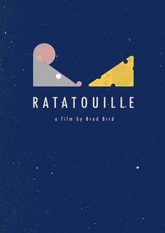 ratatouille #minimalist #movie #poster