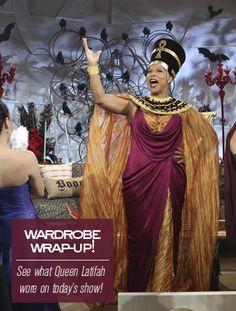 Queen Latifah's Halloween Costume - Nefertiti