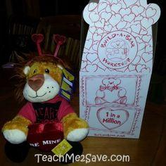 Huge Hearted Lion #buildabear #sharebabwwishes