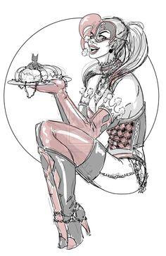 Harley Quinn by JenBroomall.deviantart.com