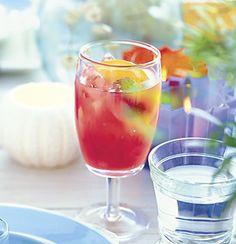 Berry Rum Punch: Recipe: bonappetit.com