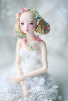 by oso_polar, via Flickr    enchanted doll by Marina