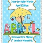 Great for literacy Centers, Working with Words, RtI, or mini lessons!  My complete set includes:    -April Picture with:  no, way, could, my, water...