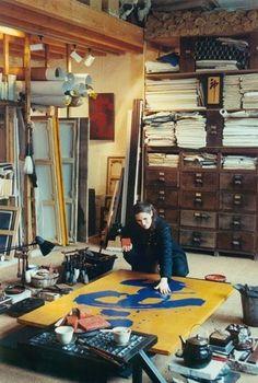 Fabienne Verdier at work